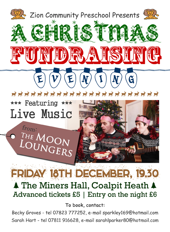 moon loungers christmas fundraiser