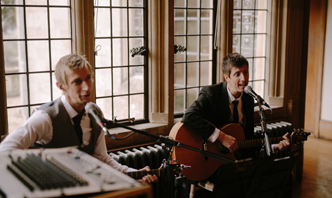 wedding band bristol acoustic duo coombe lodge