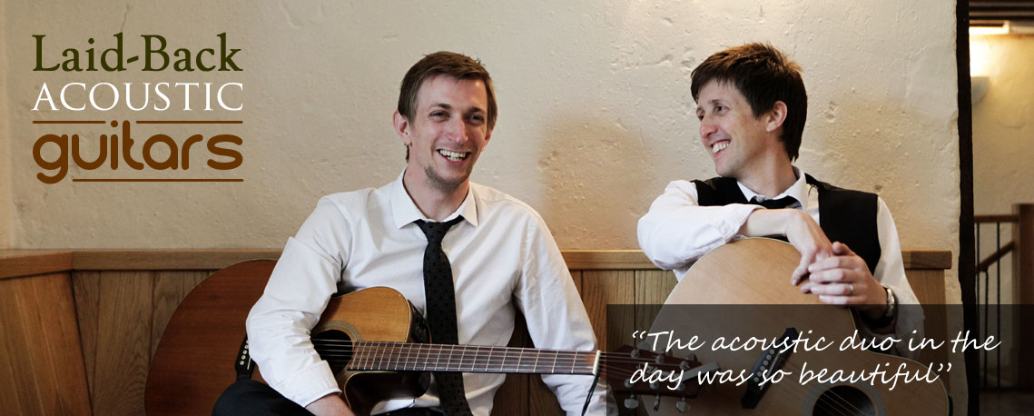 Bristol Wedding Acoustic Duo