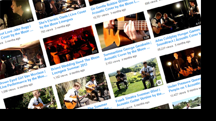 moon loungers youtube bristol wedding band