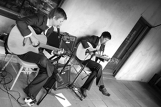 acoustic duo wedding ceremony bristol